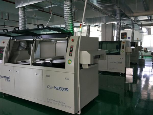 Wave soldering production line customer Yaqitai (Shenzhen)